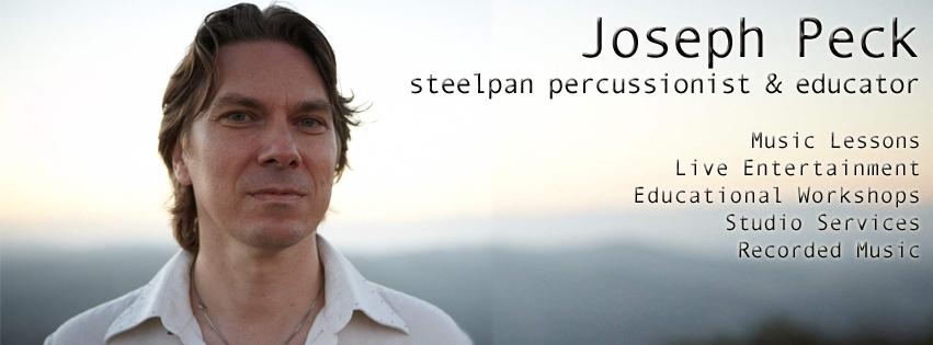 Joseph Peck - Steelpan Percussionist & Educator