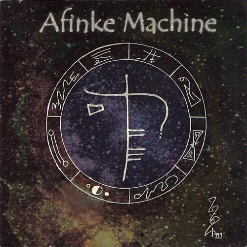Afinke Machine debut CD Cover