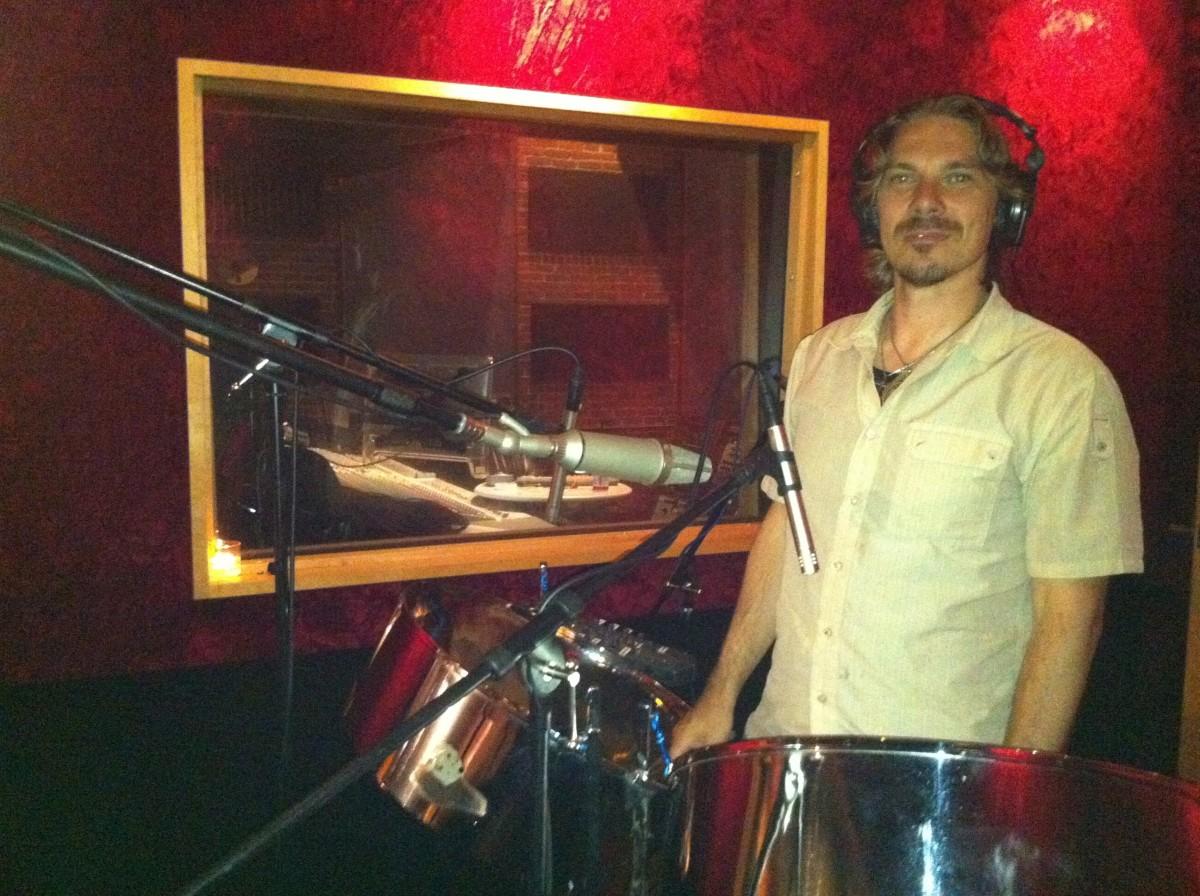 Joseph Tracking Steelpans for Babylon Saints EP.