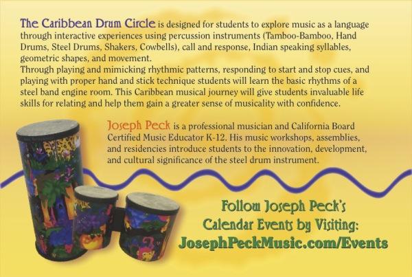 Caribbean Drum Circle 2015 Camp Ad-back
